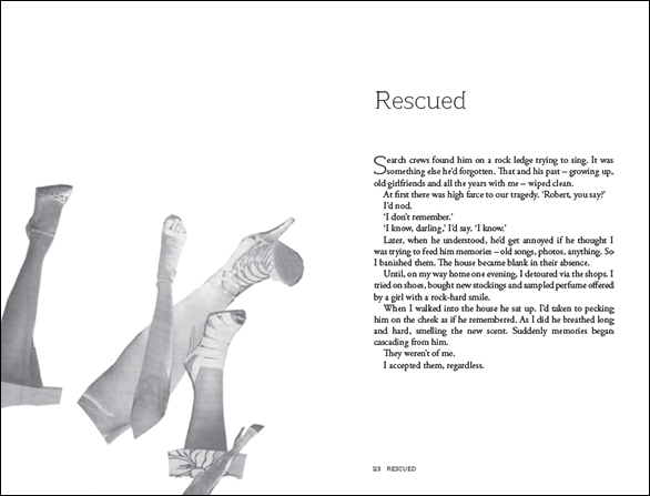 What You Might Find, pages 112 to 113, featuring collaged illustration by Bettina Kaiser